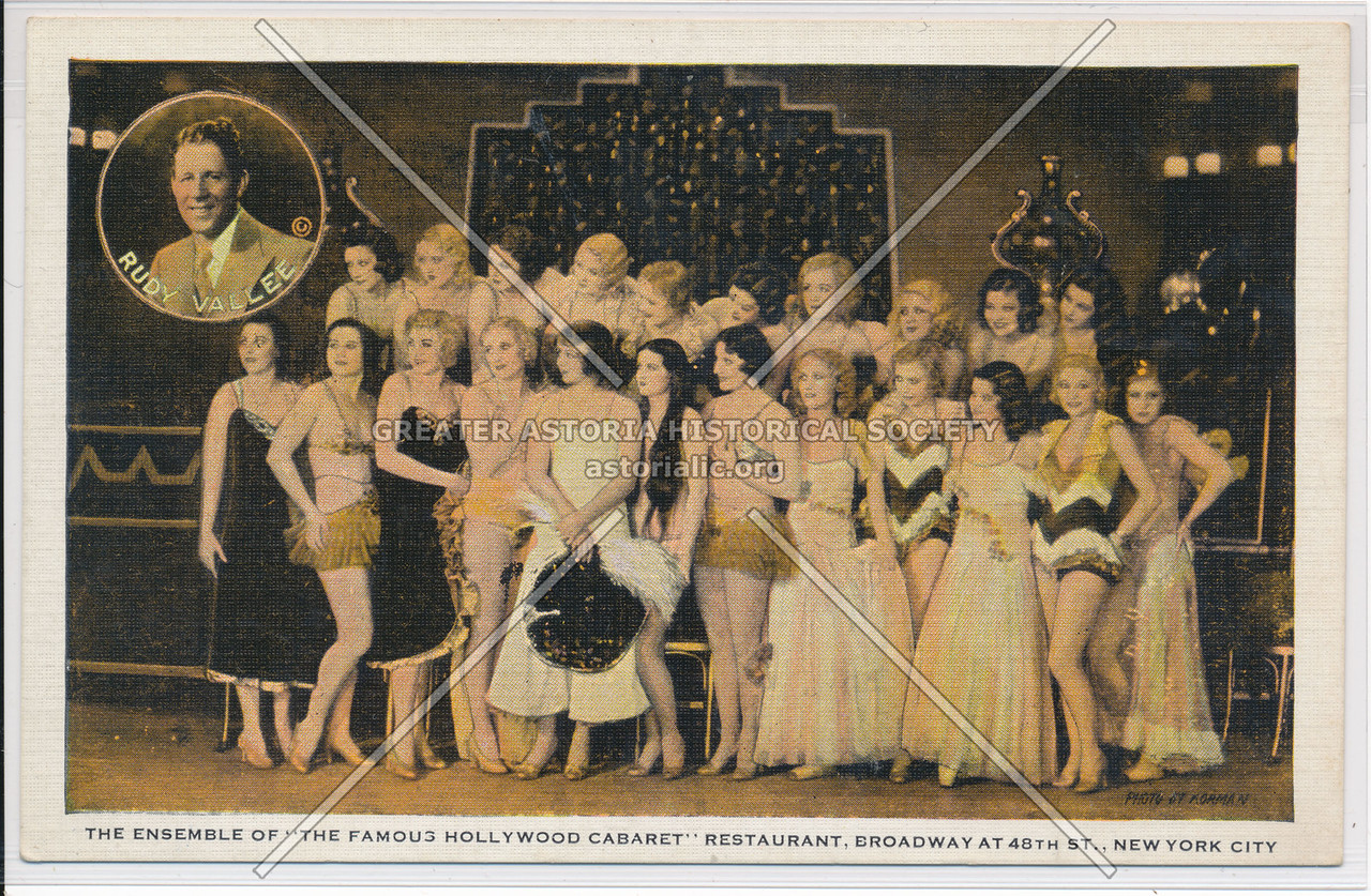 "The Ensemble Of ""The Famous Hollywood Cabaret"" Restaurant, Broadway at 48th St., New York City"