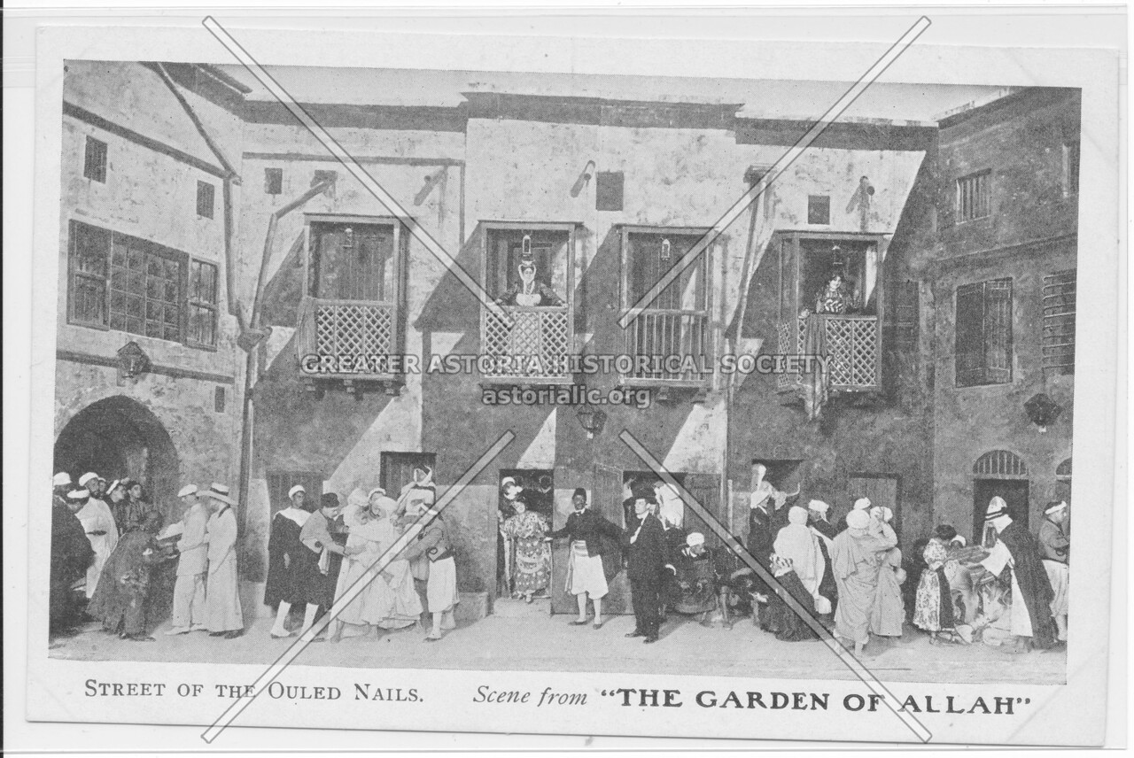 """Street Of The Ouled Nails. Scene from """"The Garden Of Allah"""""""