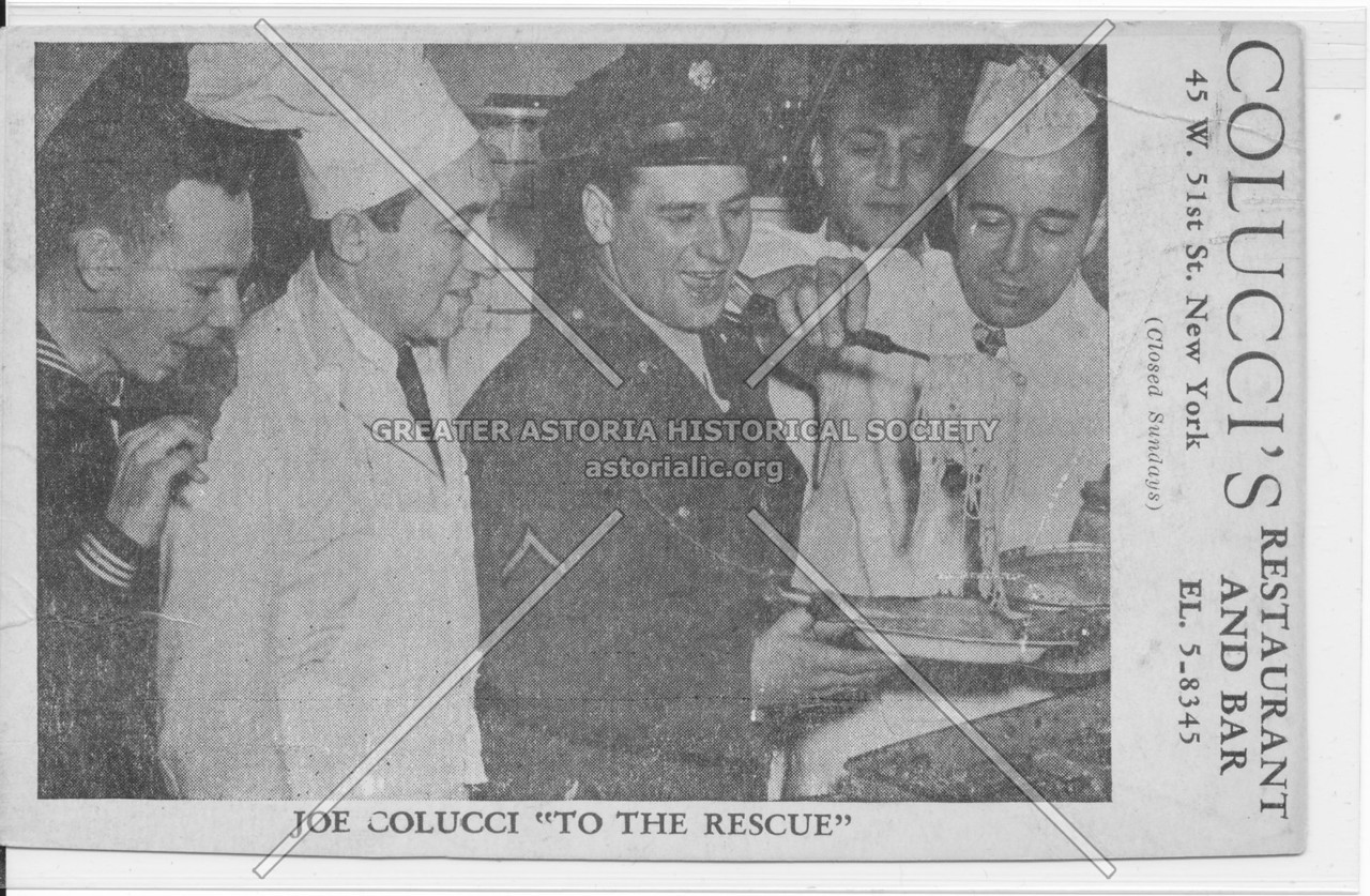 """Joe Colucci """"To The Rescue"""""""
