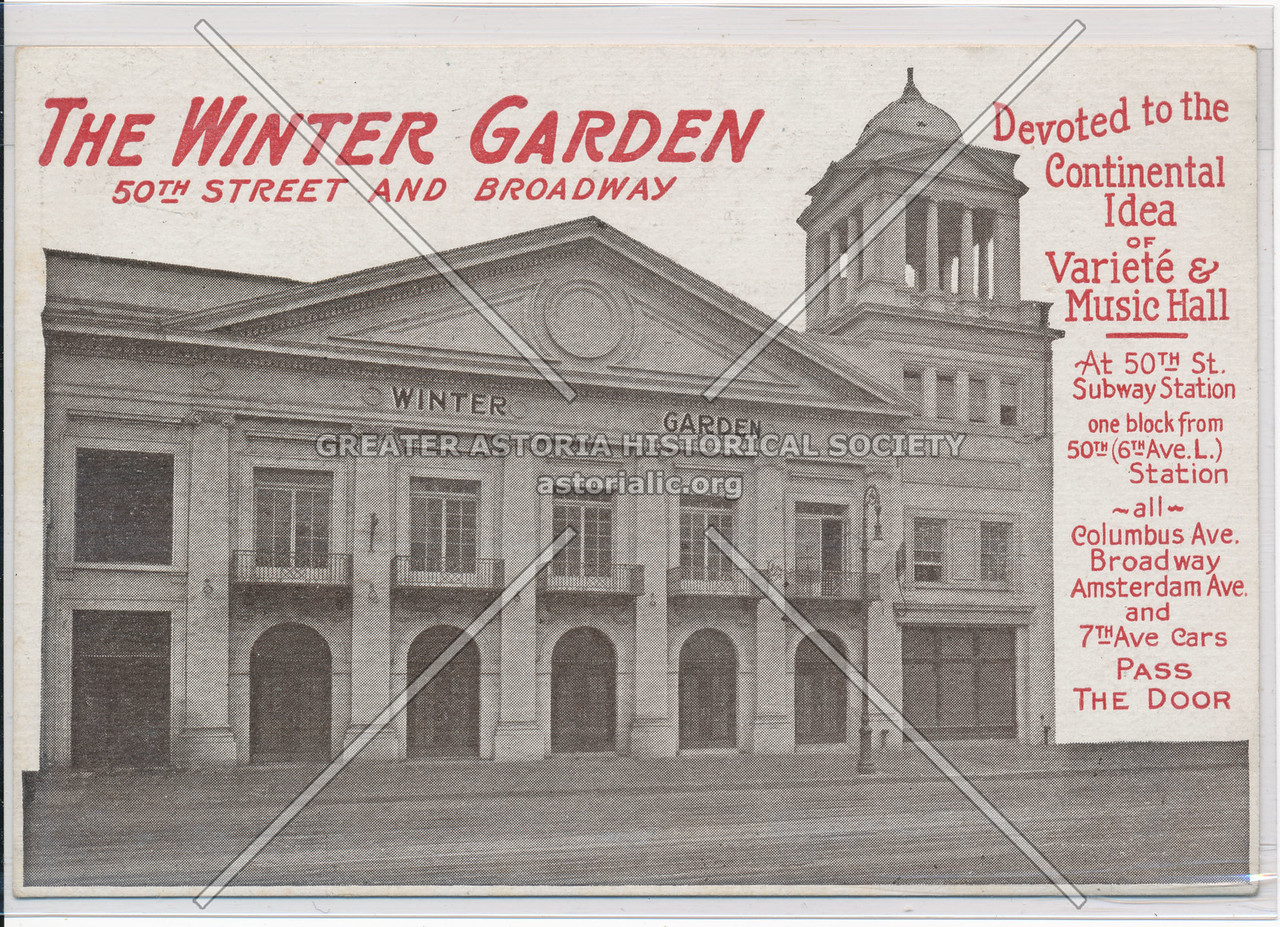 The Winter Garden, 50th Street And Broadway