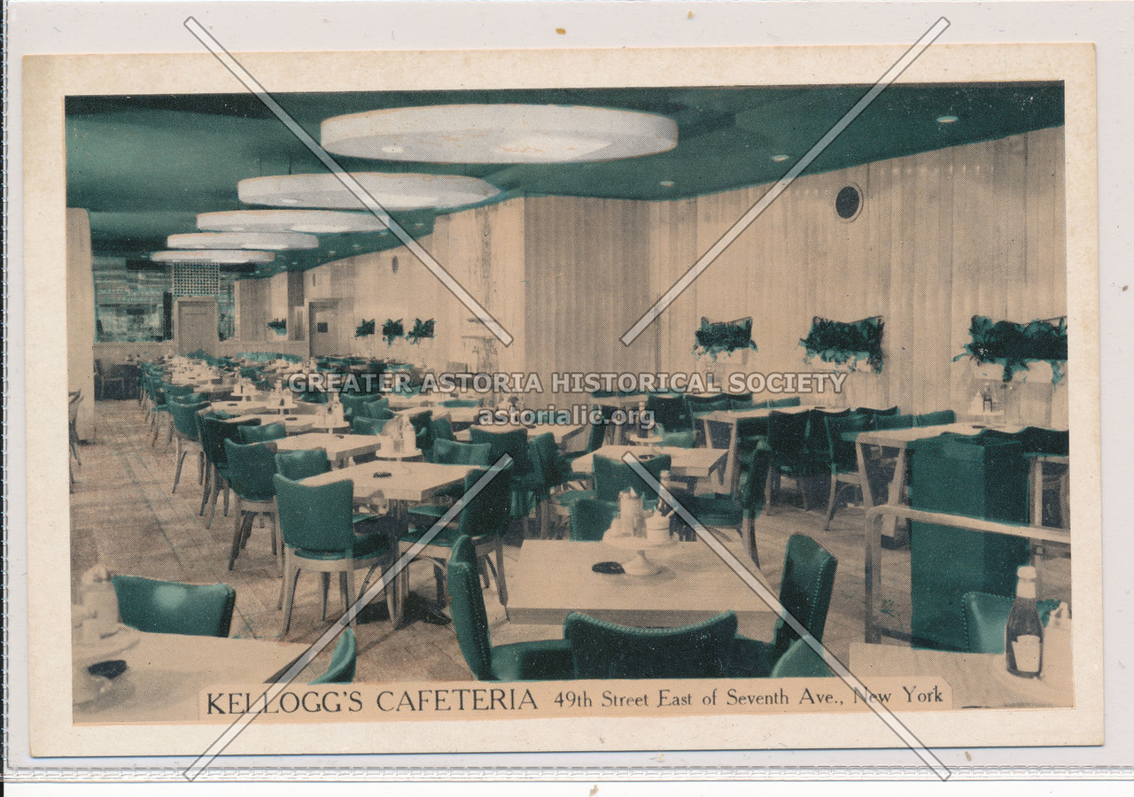 Kellogg's Cafeteria, 49th Street East of Seventh Ave., New York