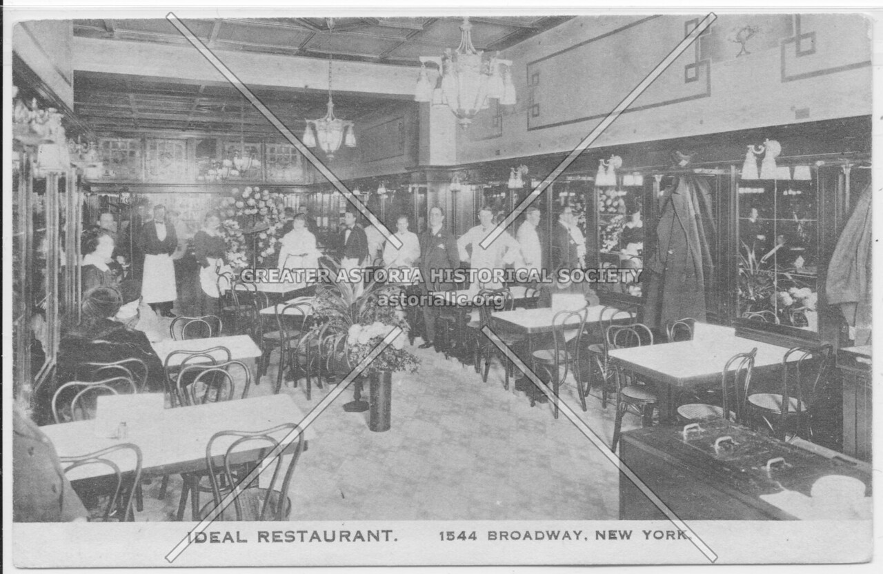 Ideal Restaurant, 1544 Broadway, New York