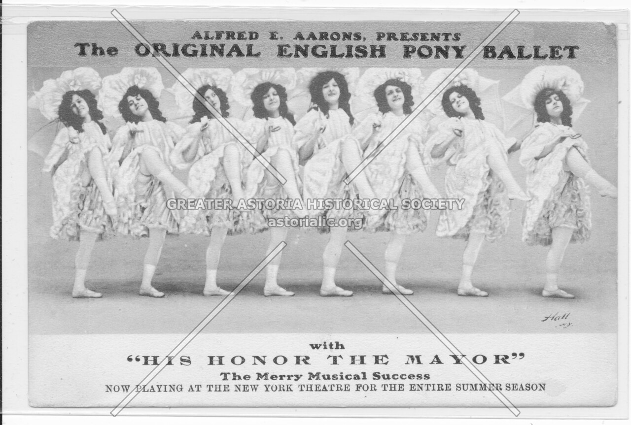 "The Original English Pony Ballet with ""His Honor The Mayor"""