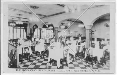 The Rockaway Restaurant, 159 E 42nd Street, N.Y.C.