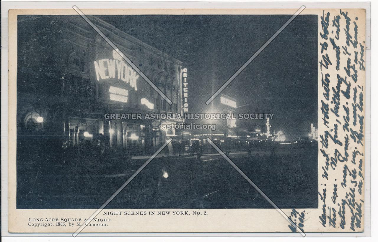 Night Scenes In New York, No. 2