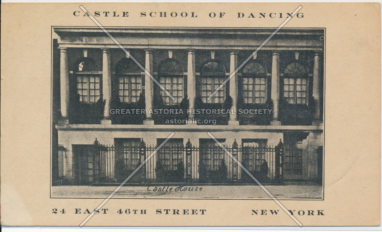 Castle School Of Dancing, 24 East 46th Street, New York