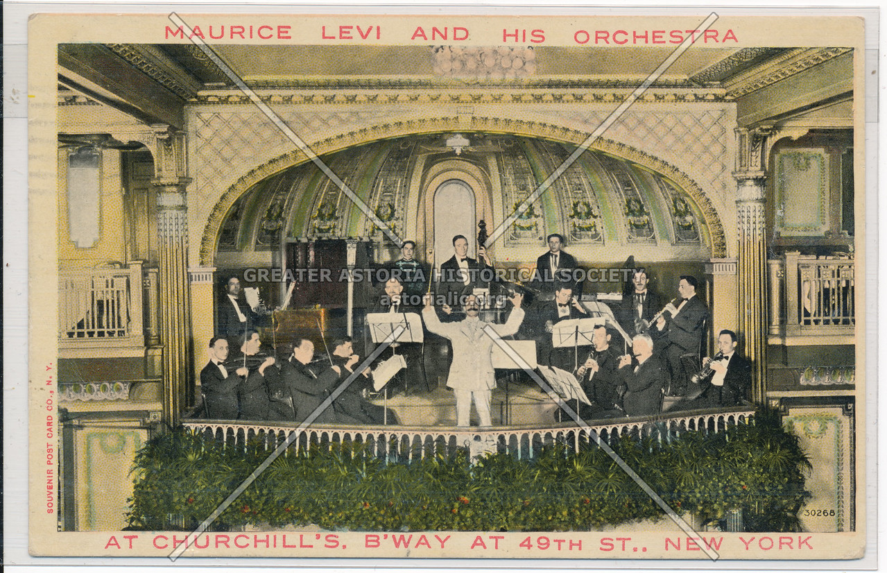 Maurice Levi And His Orchestra, At Churchill's, B'Way At 49th St., New York
