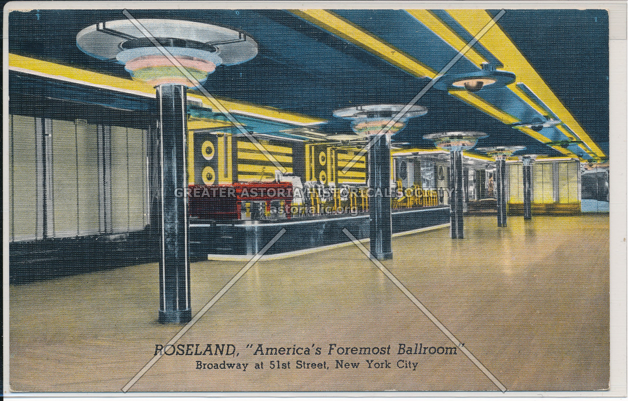 "Roseland, ""America's Foremost Ballroom"" Broadway at 51st Street, New York City"