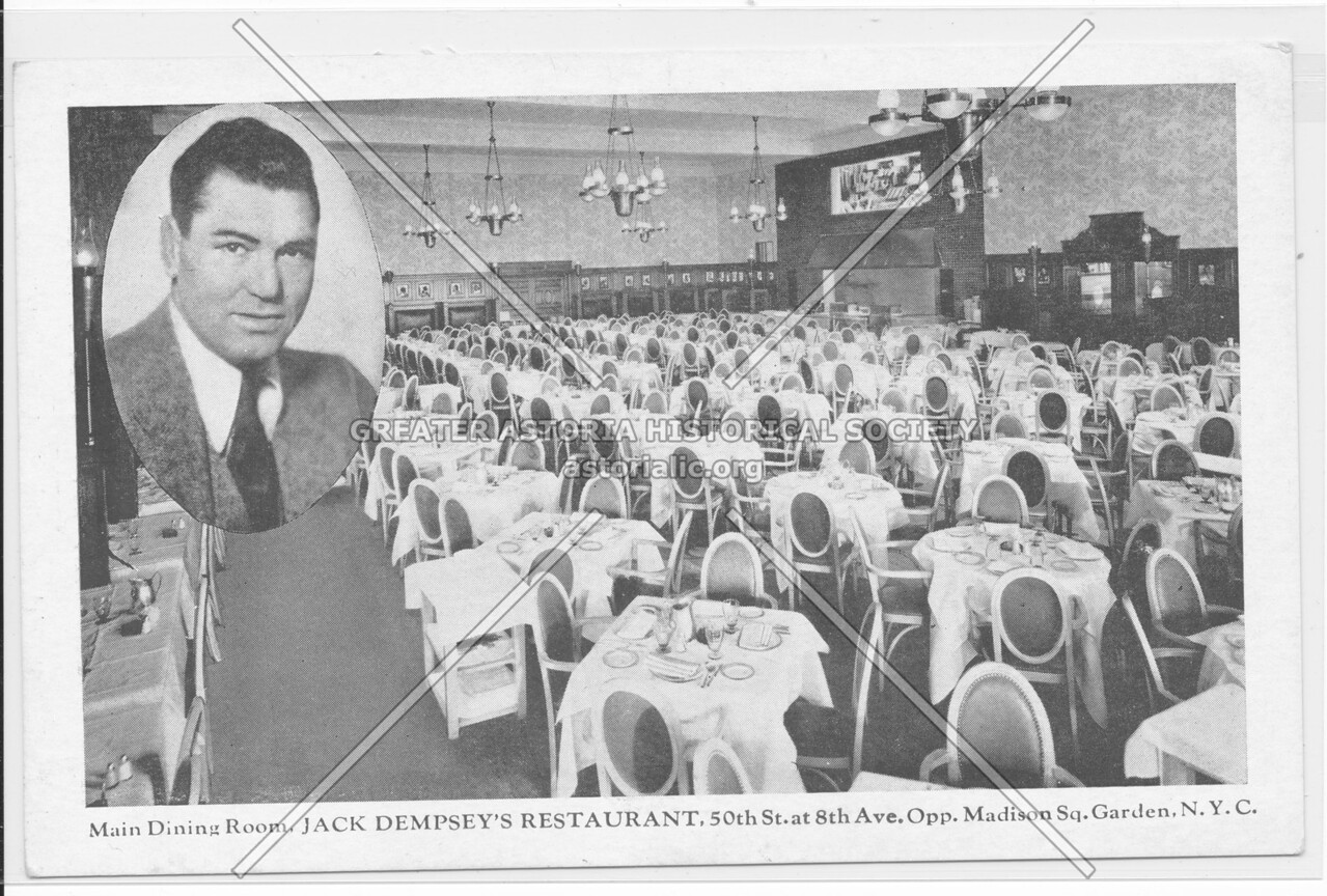 Main Dining Room, Jack Dempsey's Restaurant