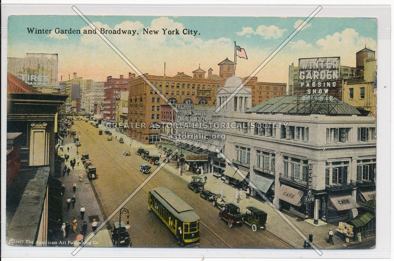 Winter Garden and Broadway, New York City.