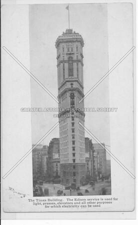 Times Builiding - Edison electricity