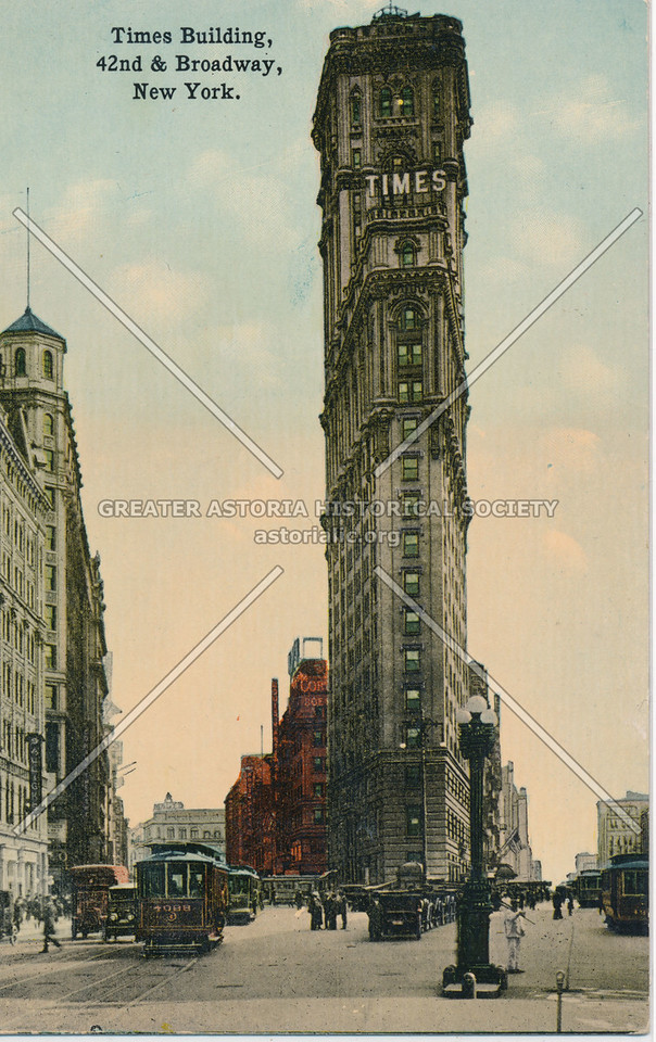Times Building, 42nd & Broadway, New York