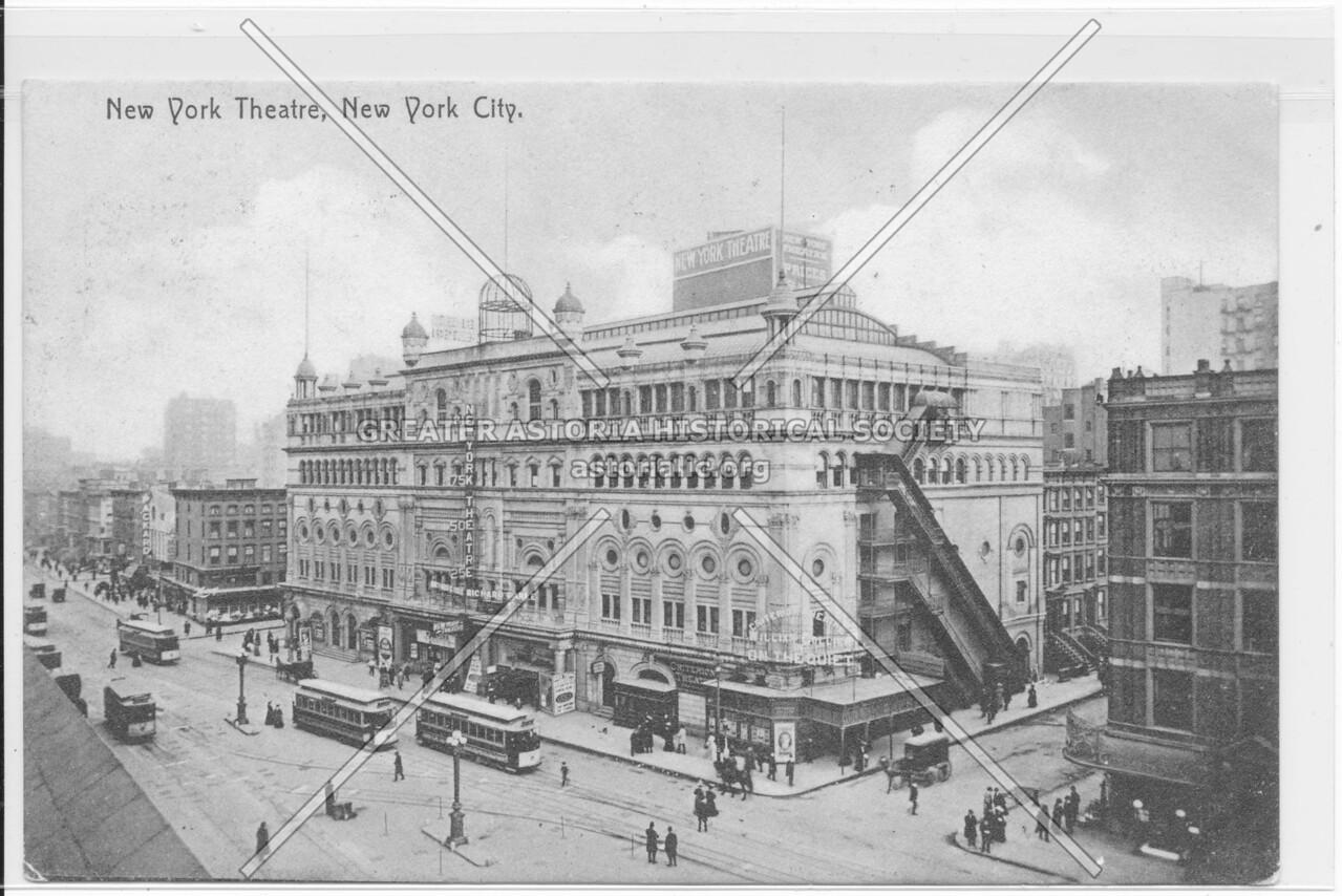New York Theatre, New York City.