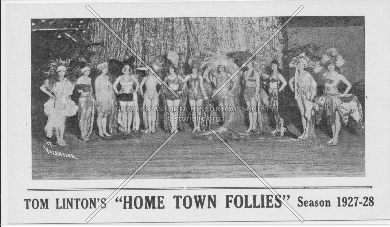 "Tom Linton's ""Home Town Follies"""