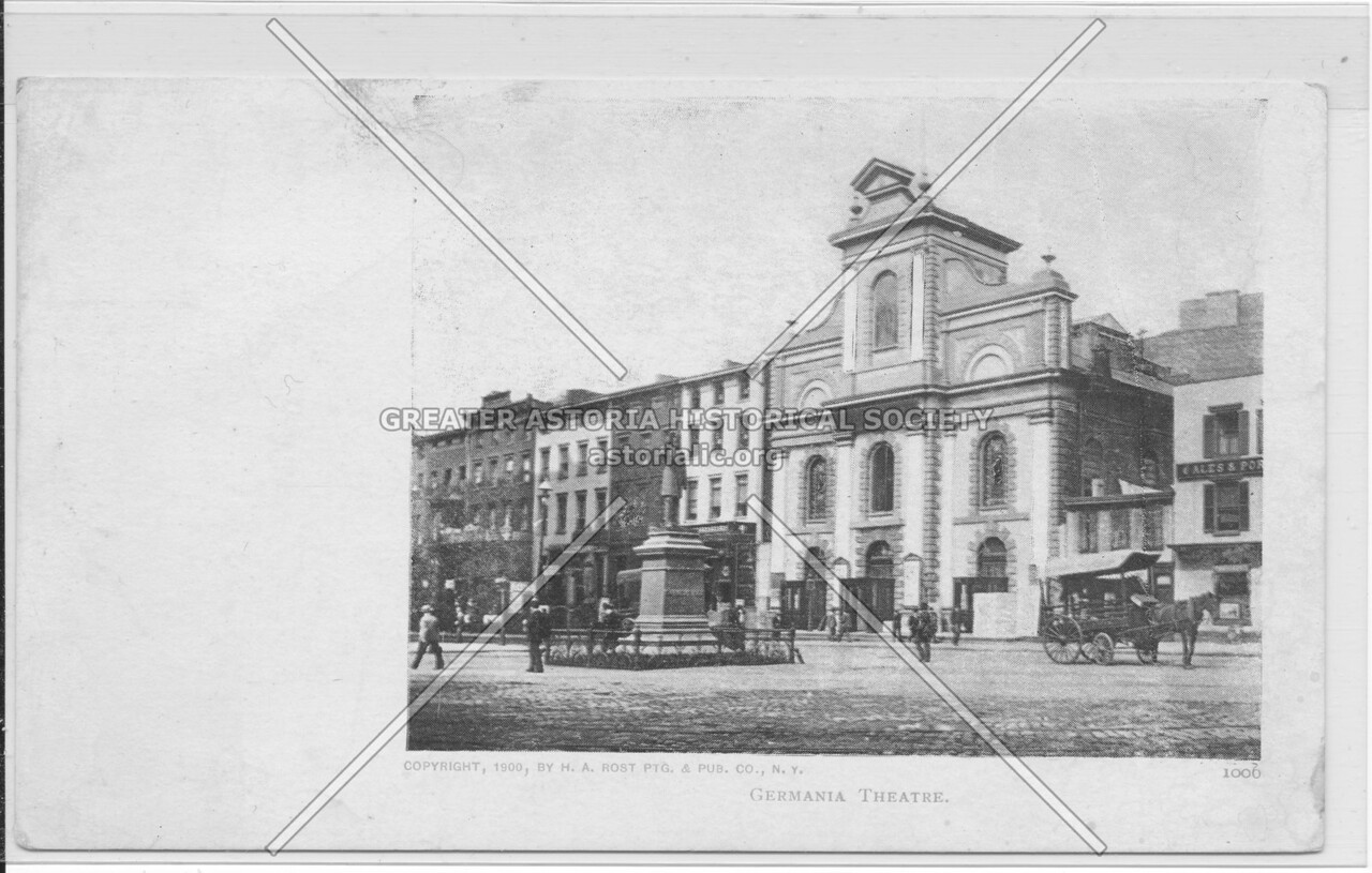 Germania Theatre, 4th Avenue and East 8 St