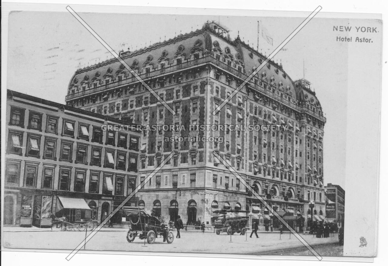 New York, Hotel Astor