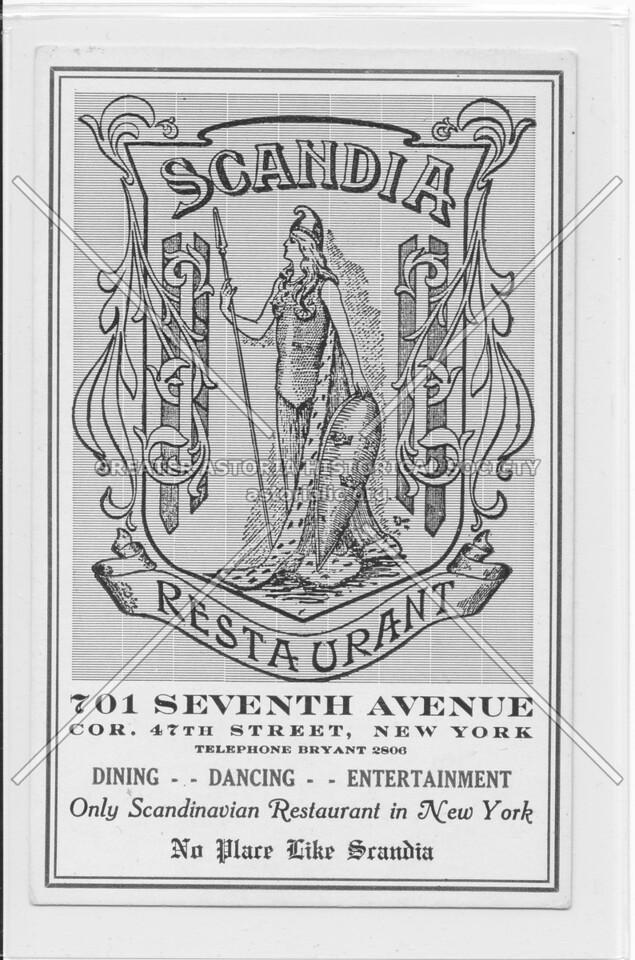 Scandia Restaurant, 701 Seventh Avenue