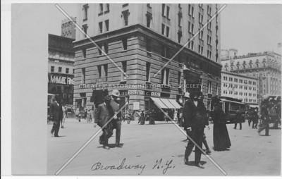 Broadway Street Shot