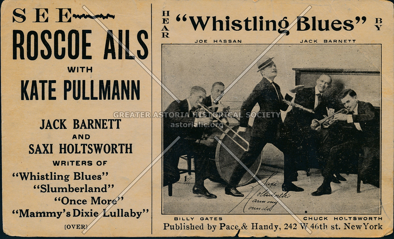 """Hear """"Whistling Blues,"""" See Roscoe Ails With Kate Pullmann"""