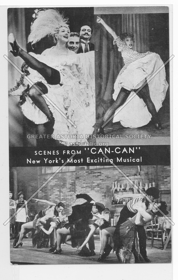 """Scenes From """"Can-Can"""" New York's Most Exciting Musical"""