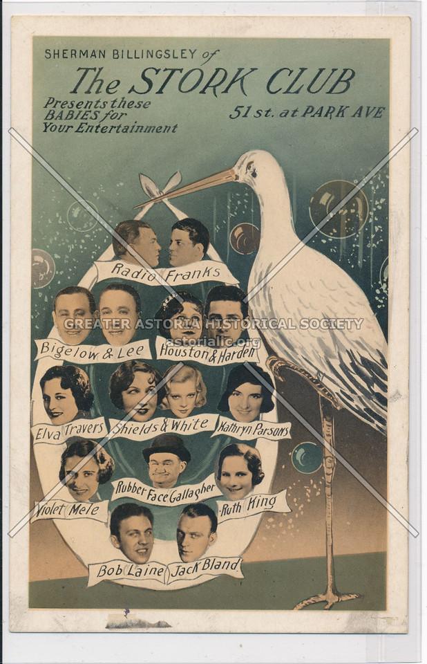 Sherman Billingsley of The Stork Club