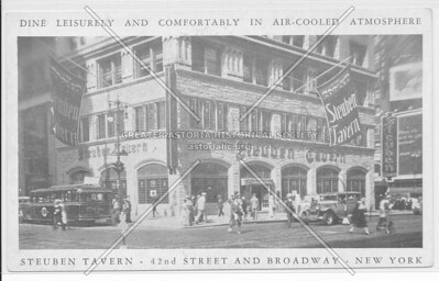 Steuben Tavern, 42nd Street And Broadway, New York