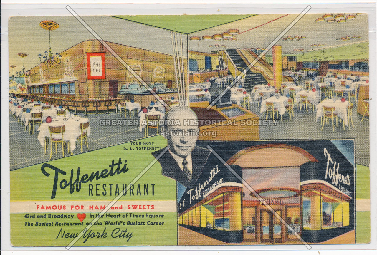 Toffenetti Restaurant, Famous For Ham and Sweets