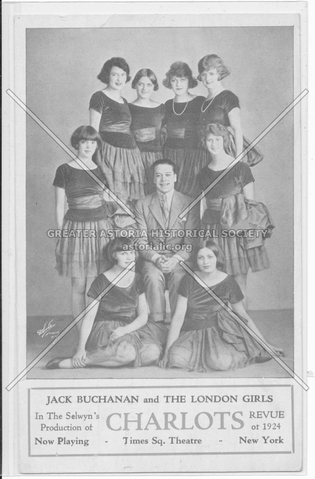 Jack Buchanan and The London Girls, Charlots