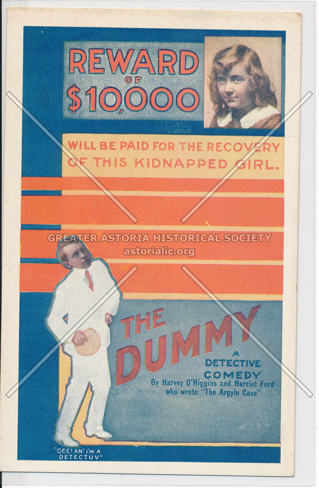 The Dummy: A Detective Comedy