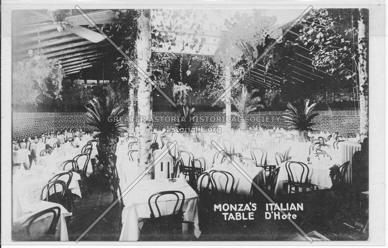 Monza's Italian Table D'Hote