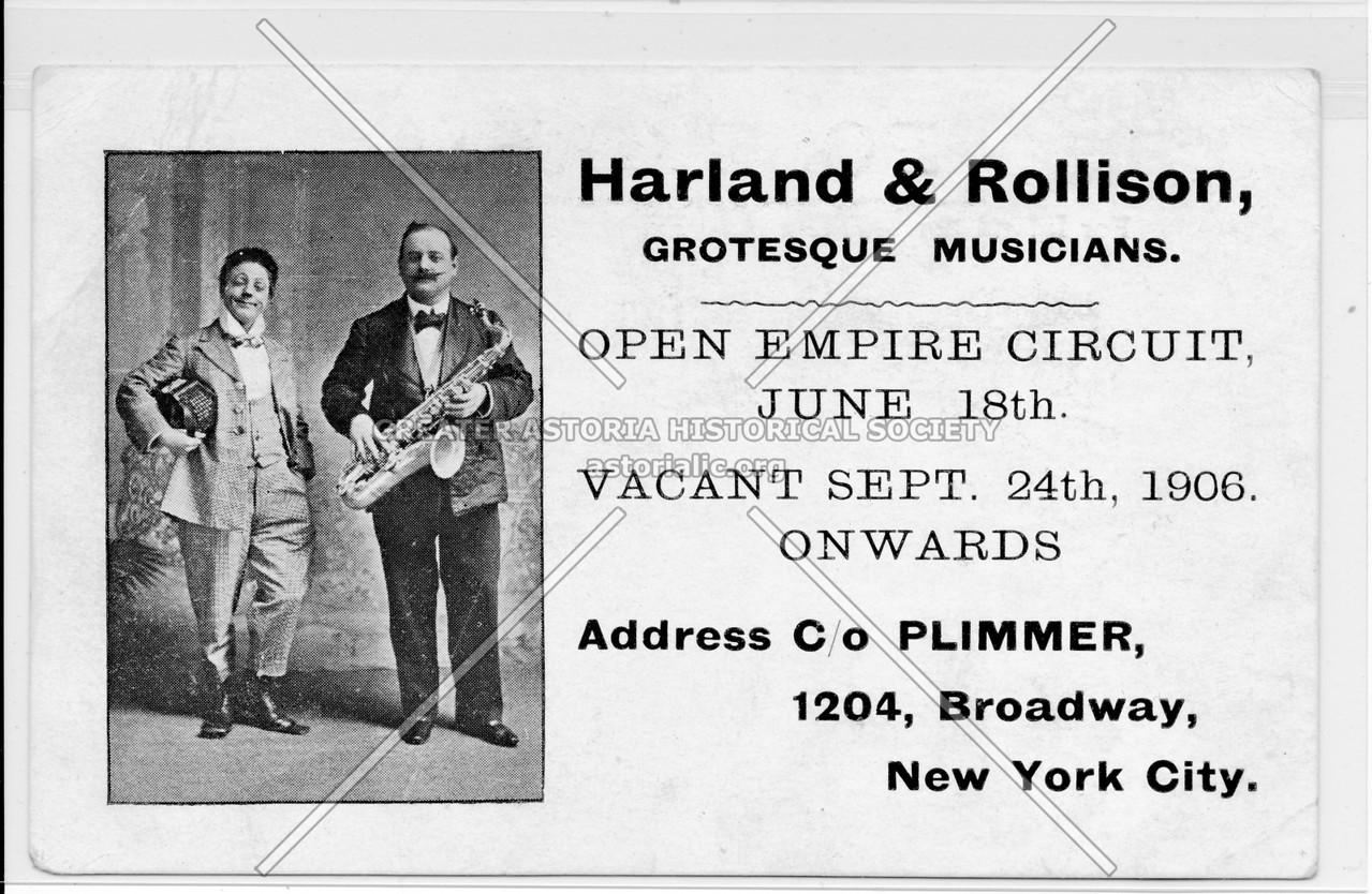 Harland & Rollison, Grotesque Musicians.