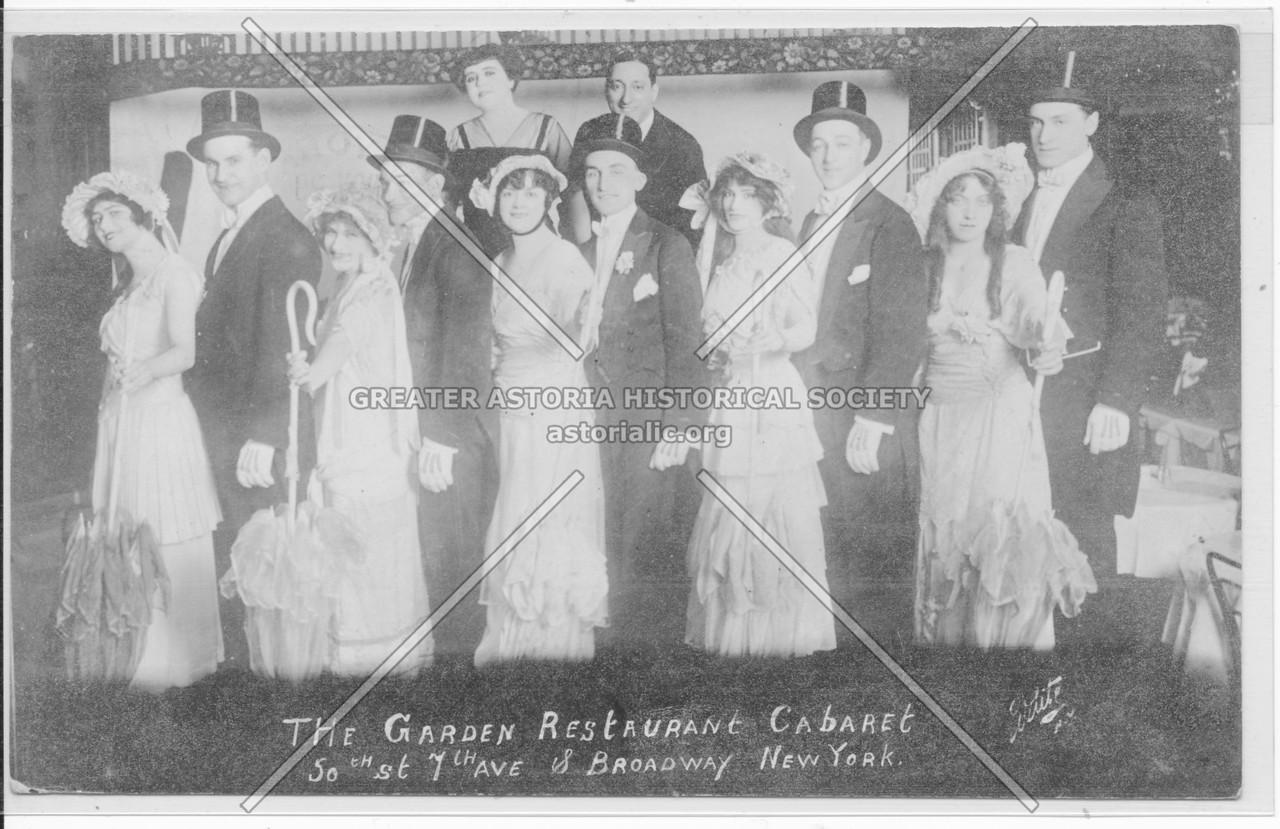 The Garden Restaurant Cabaret, 50th St., 7th Ave. & Broadway, New York
