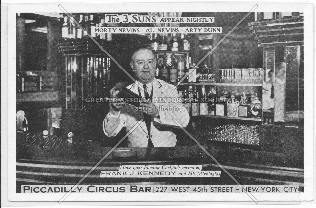 Piccadilly Circus Bar, 227 West 45th Street- New York City