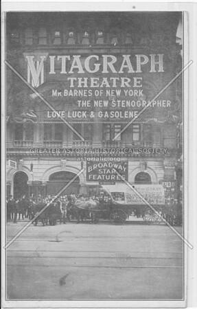 Mitagraph Theatre, Mr. Barnes Of New York, The New Stenographer, Love Luck & Gasolene