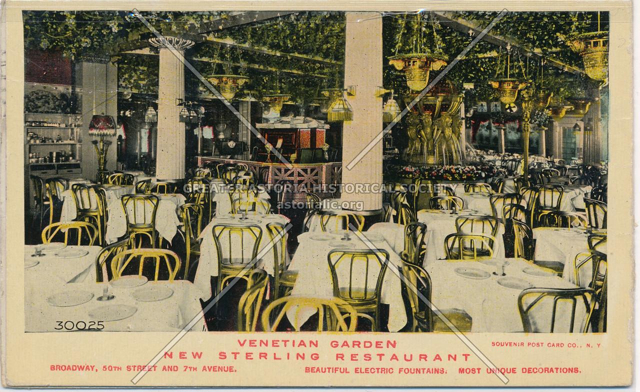 Venetian Garden New Sterling Restaurant