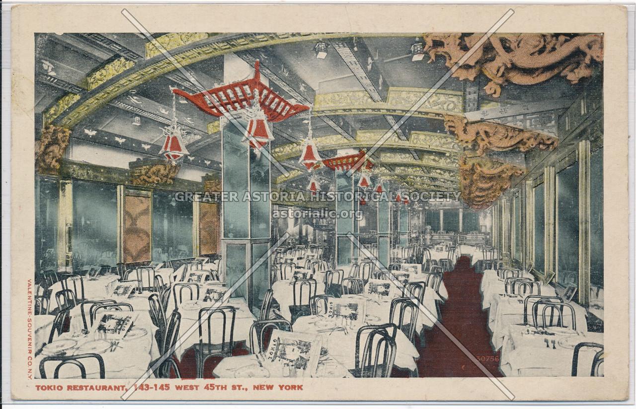 Tokio Restaurant, 143-145 West 45th St., New York