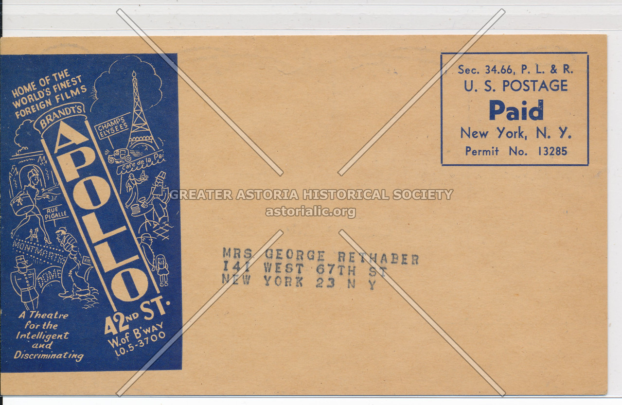 Victor Hugo's Classic Les Miserable at the Apollo, Brandt's 42nd St (back)