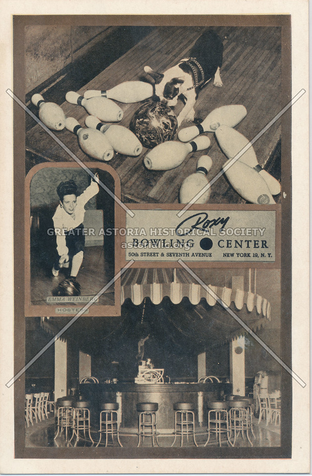 Roxy Bowling Center, New York, N.Y.