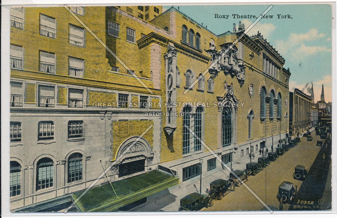 Roxy Theatre, New York