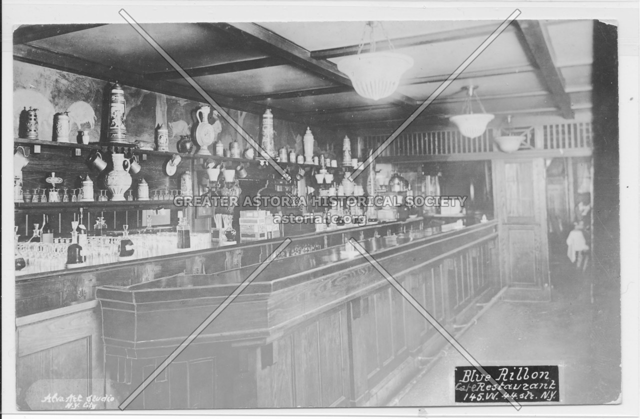 Blue Ribbon Restaurant, 145 W. 44th Str. N.Y.