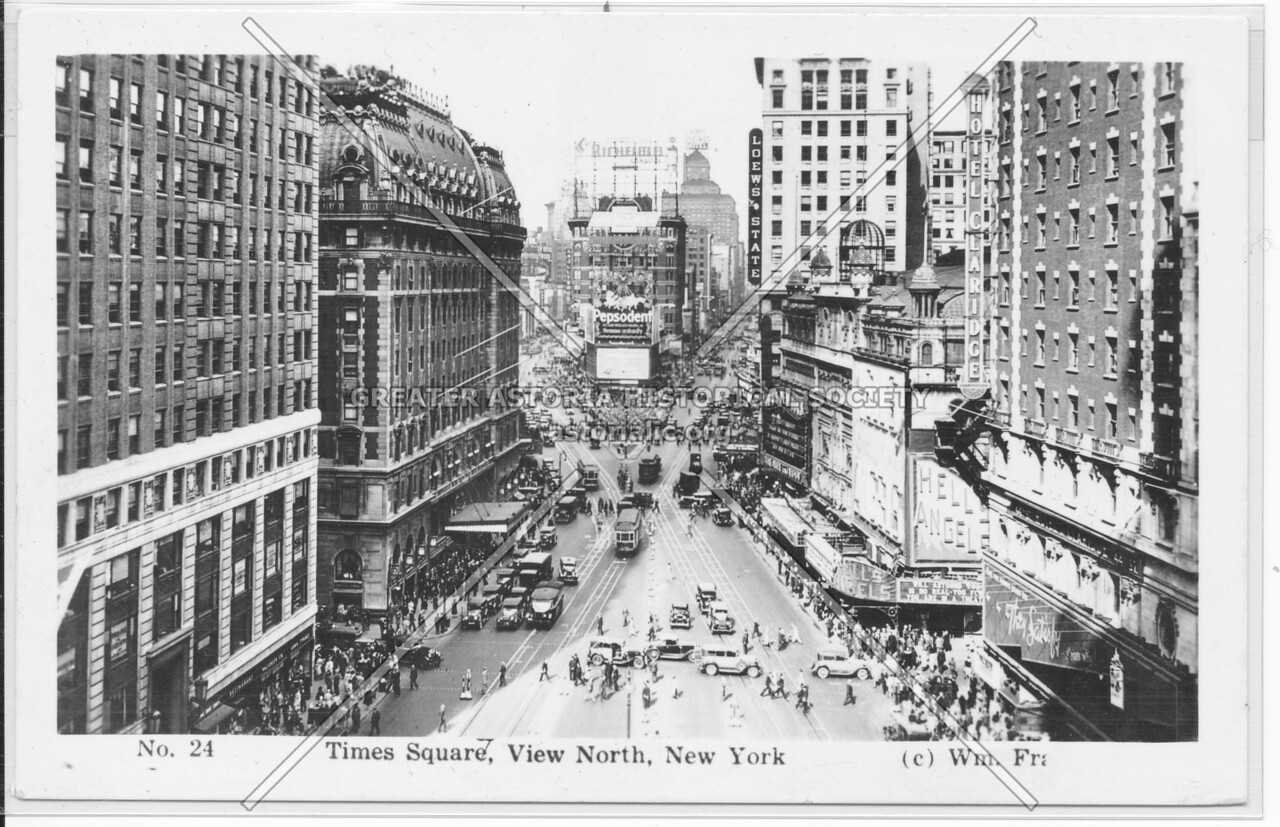 Times Square, View North, New York