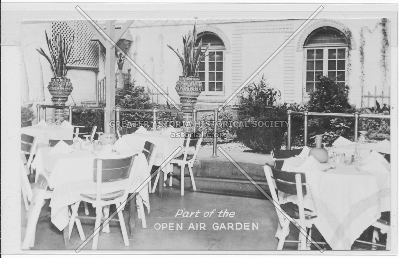 Part of the Open Air Garden