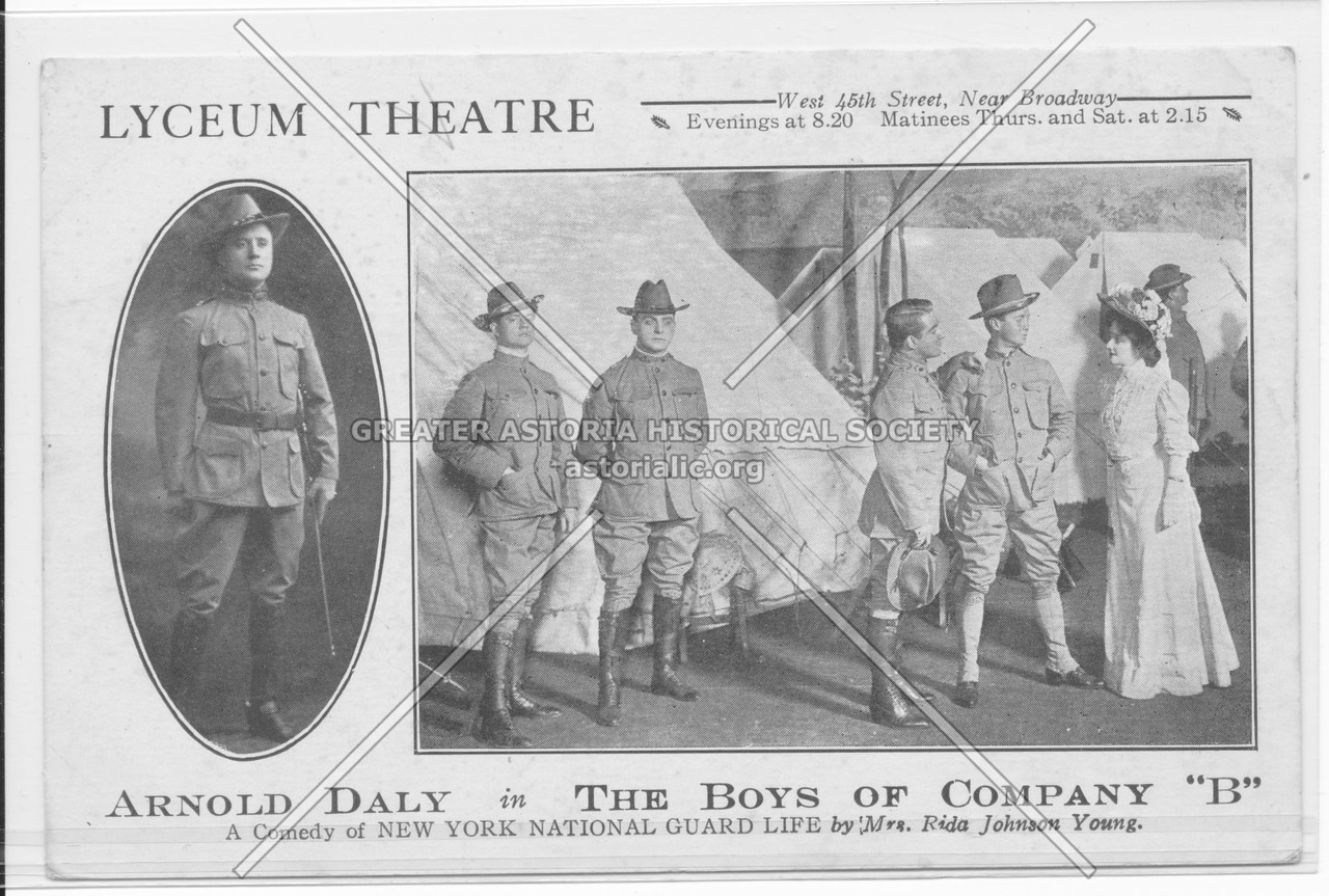 "Lyceum Theatre, Arnold Daily in The Boys Of Company ""B"""