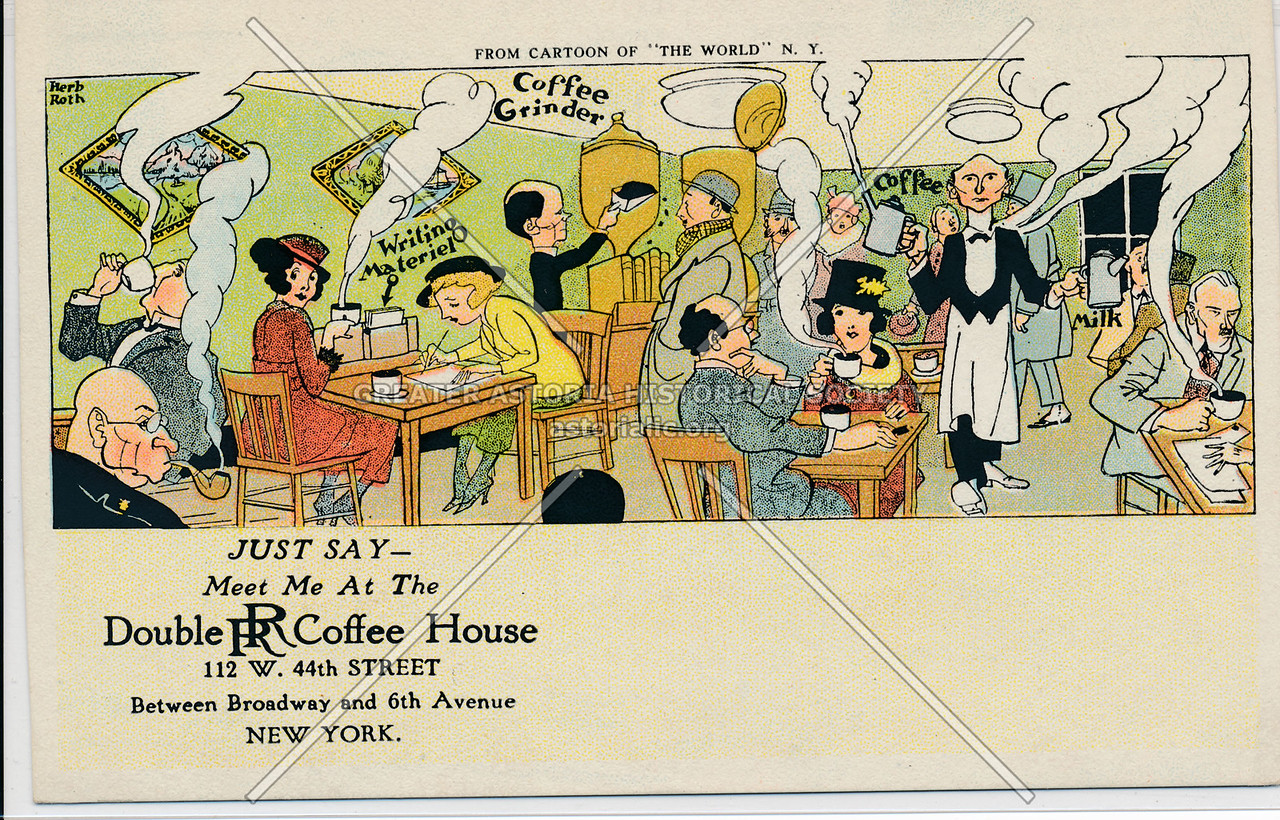 Double RR Coffee House, 112 W. 44th Street Between Broadway and 6th Avenue