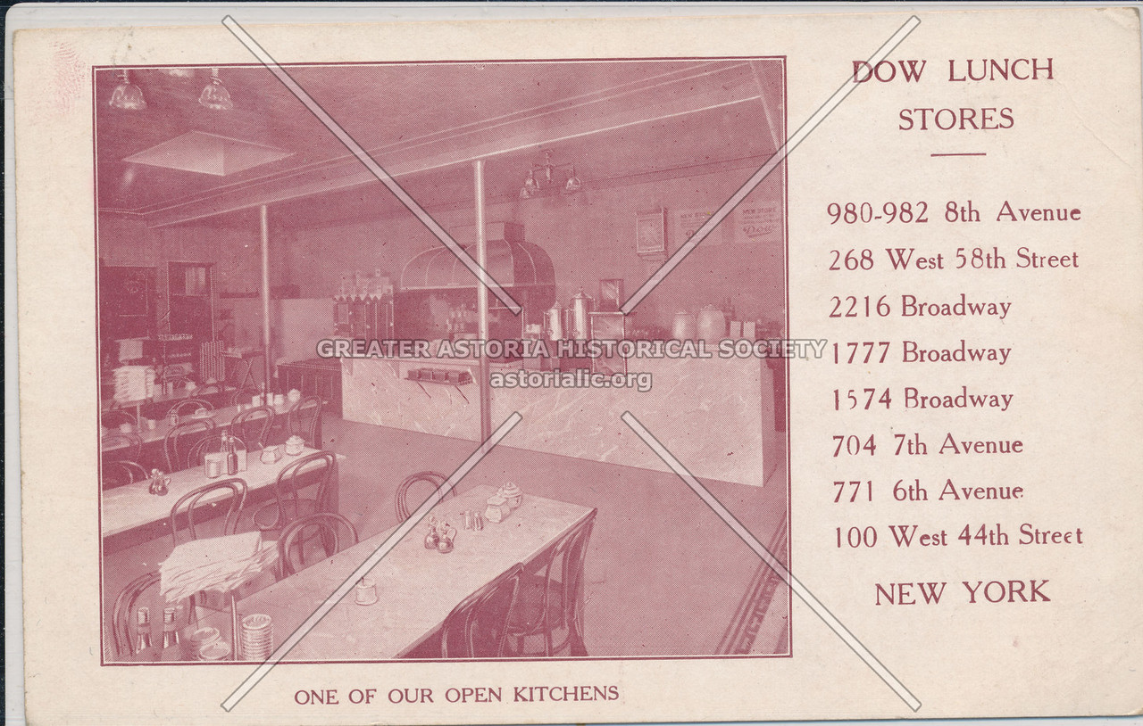 Dow Lunch Stores, One Of Our Open Kitchens