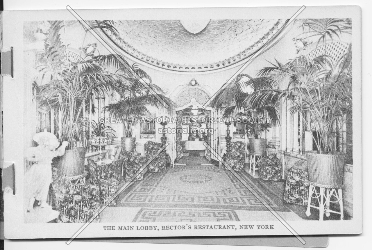 The Main Lobby, Rector's Restaurant, New York