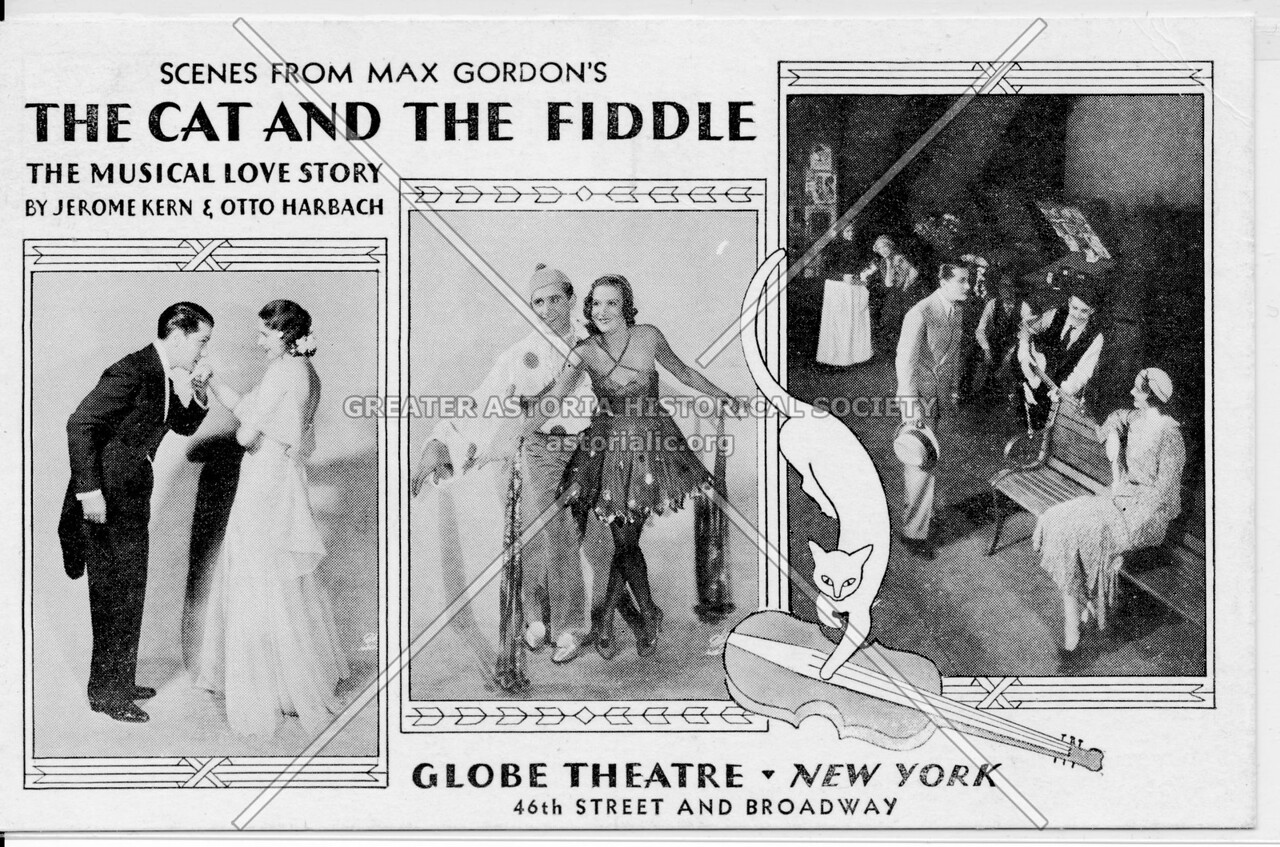Scenes From Max Gordon's The Cat And The Fiddle, Globe Theatre, New York