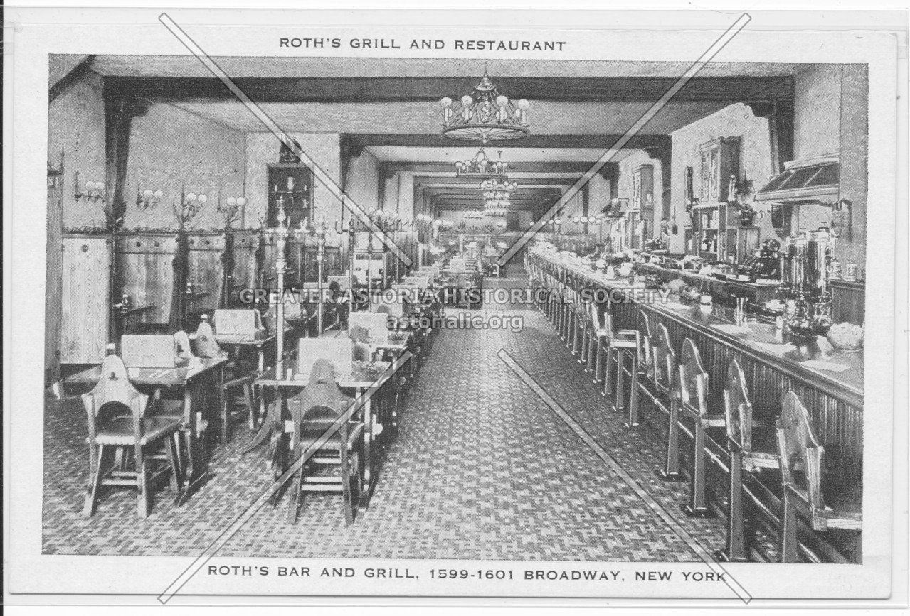 Roth's Grill And Restaurant, 1599-1601 Broadway, NY