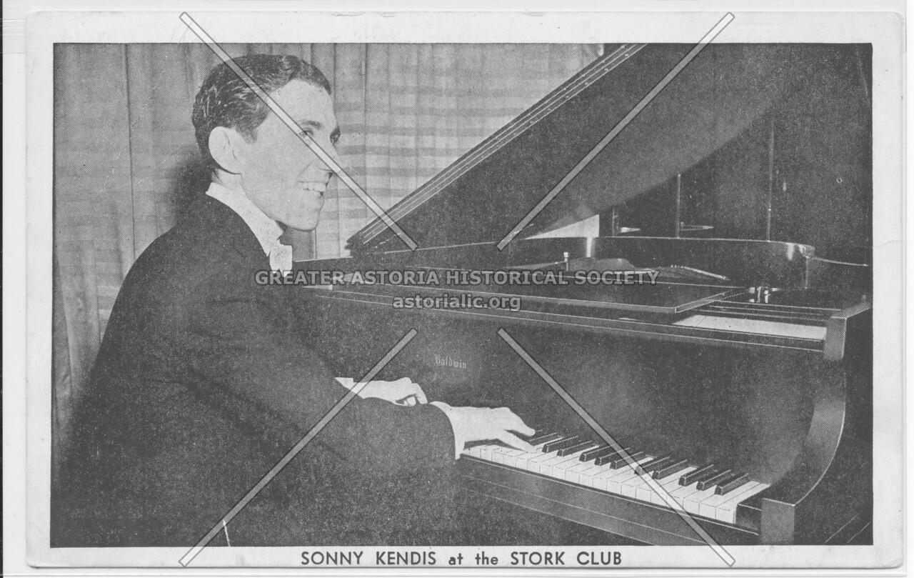Sonny Kendis at the Stork Club
