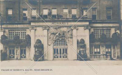 Facade Of Murray's Roman Gardens, 42nd St., Near Broadway